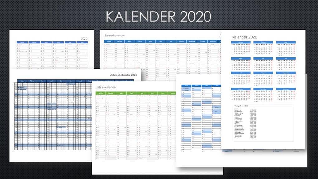 Kalender 2020 Schweiz Mit Feiertagen Kostenloser Download